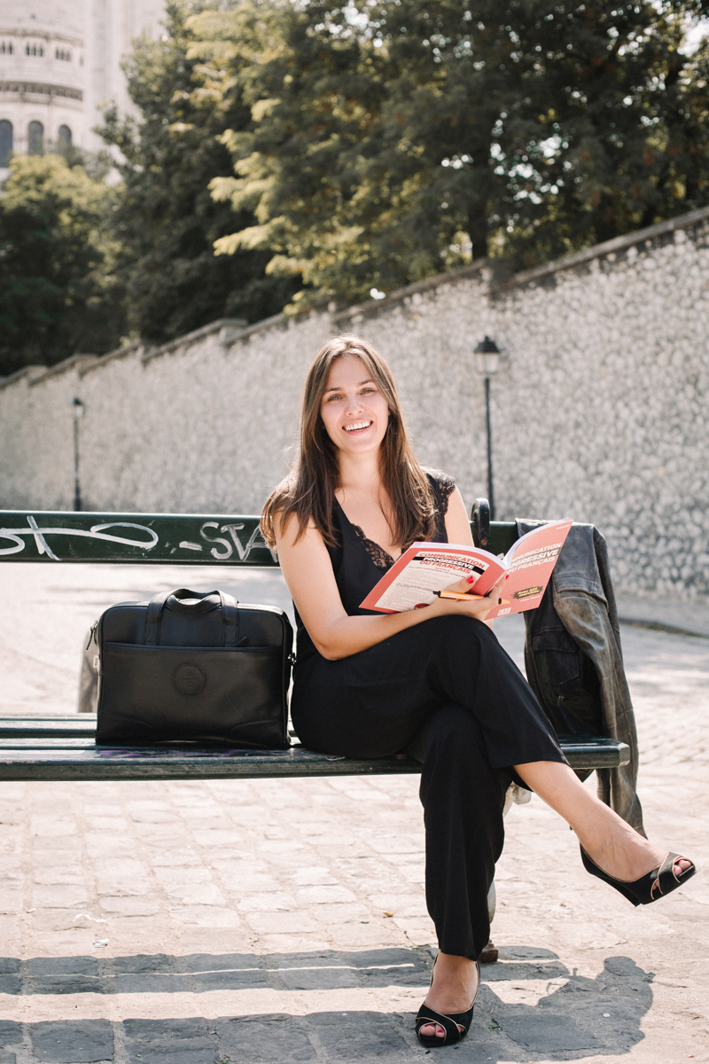 French teacher in Paris Yasmine Lesire