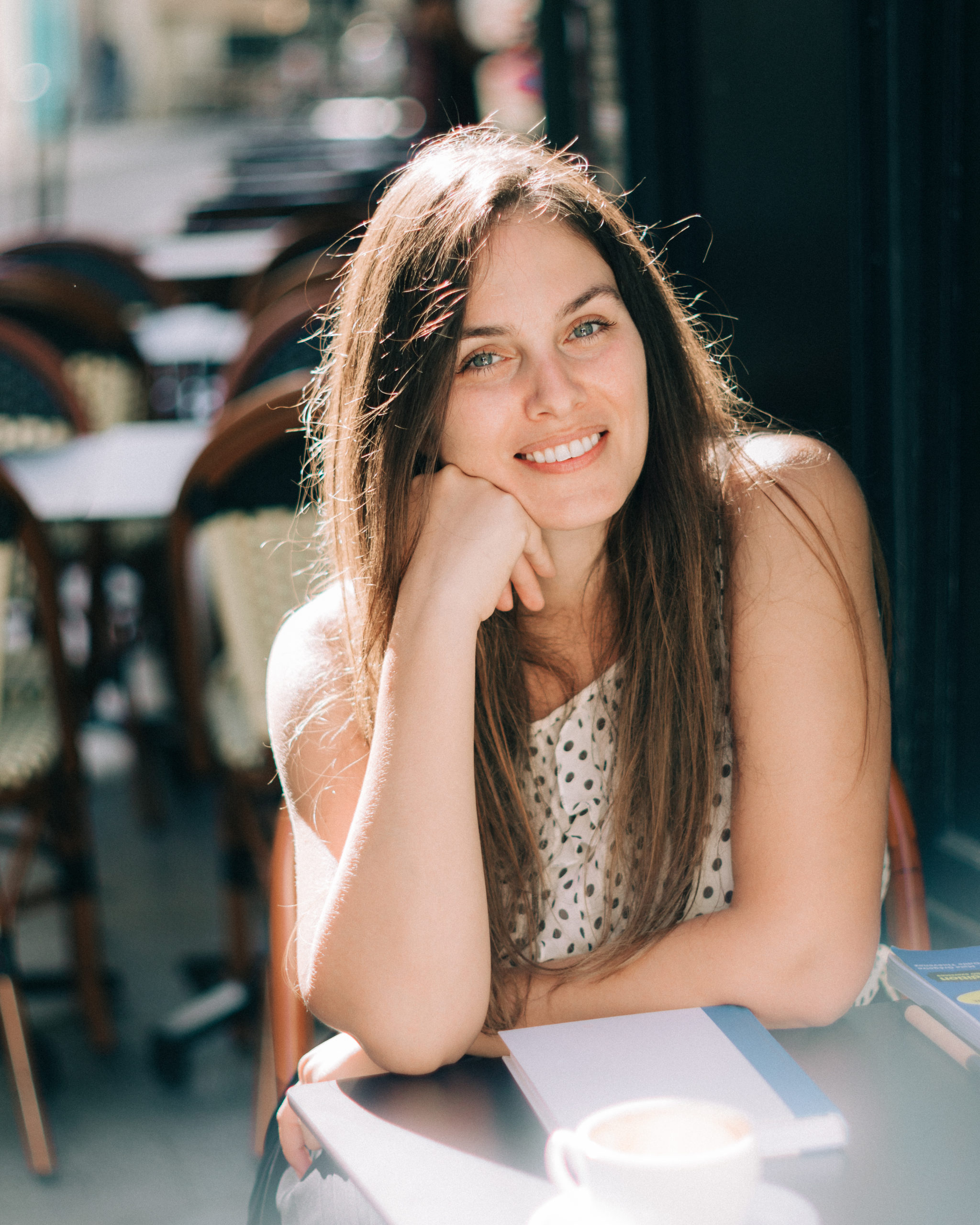French teacher in Paris Yasmine Lesire